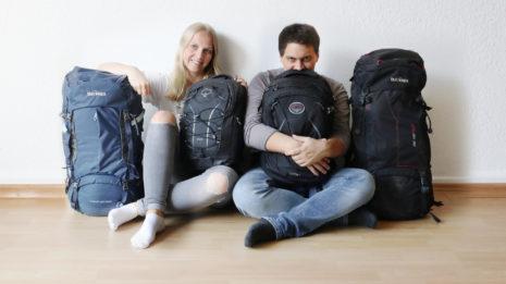 Weltreise-Packliste Teil 1: Rucksäcke, Kleidung und Nützliches