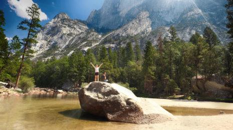 Die Weiten des Yosemite