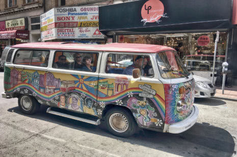 Hippie Bus San Francisco