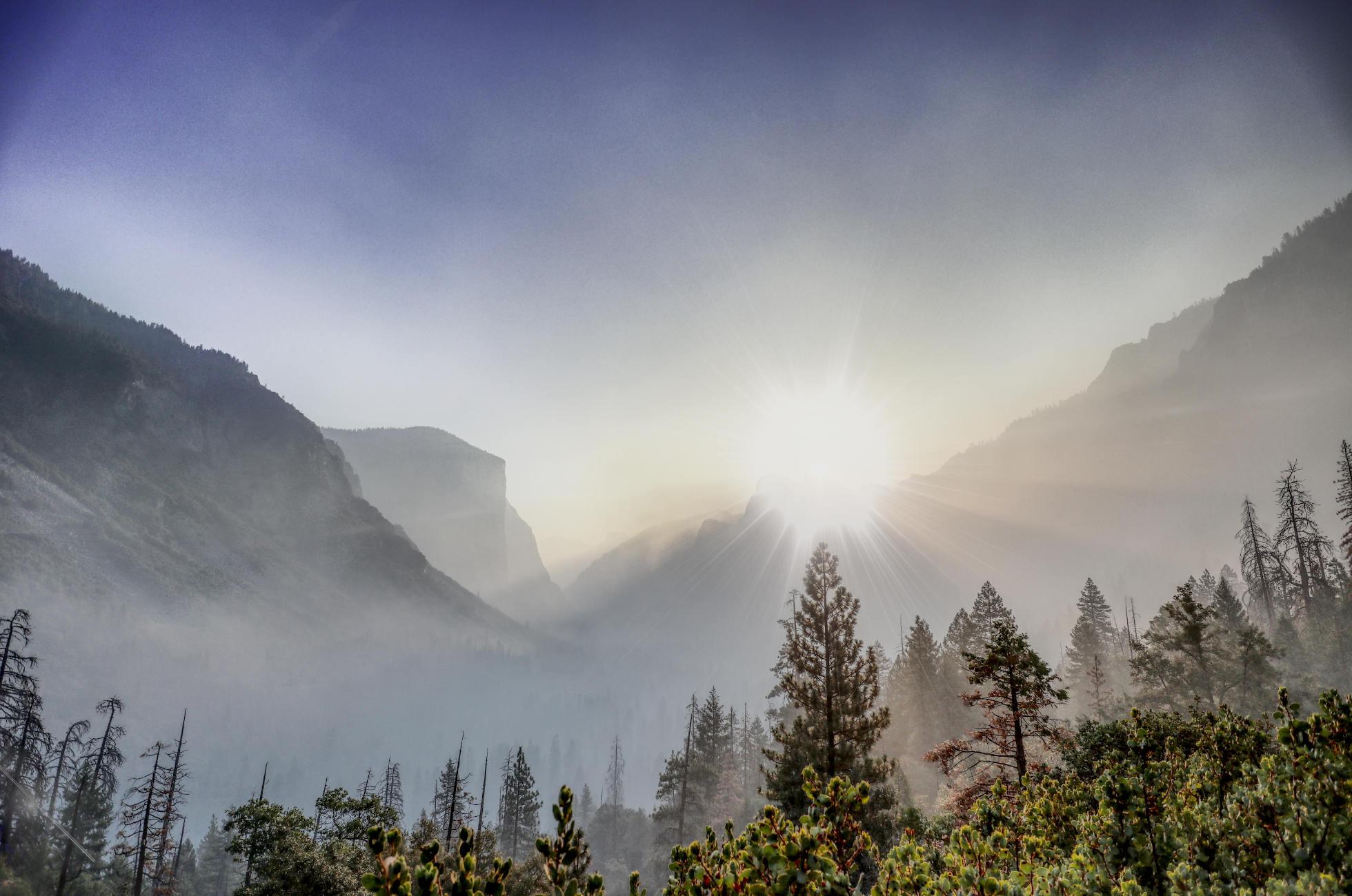 Sonnenaufgang im Yosemite