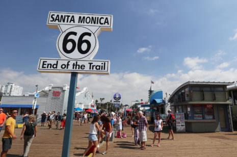 Route 66 Santa Monica