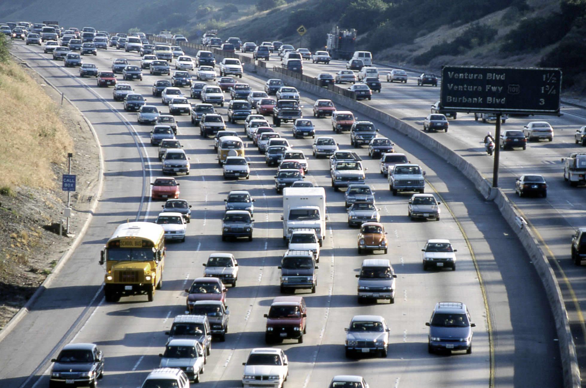 Verkehr Los Angeles