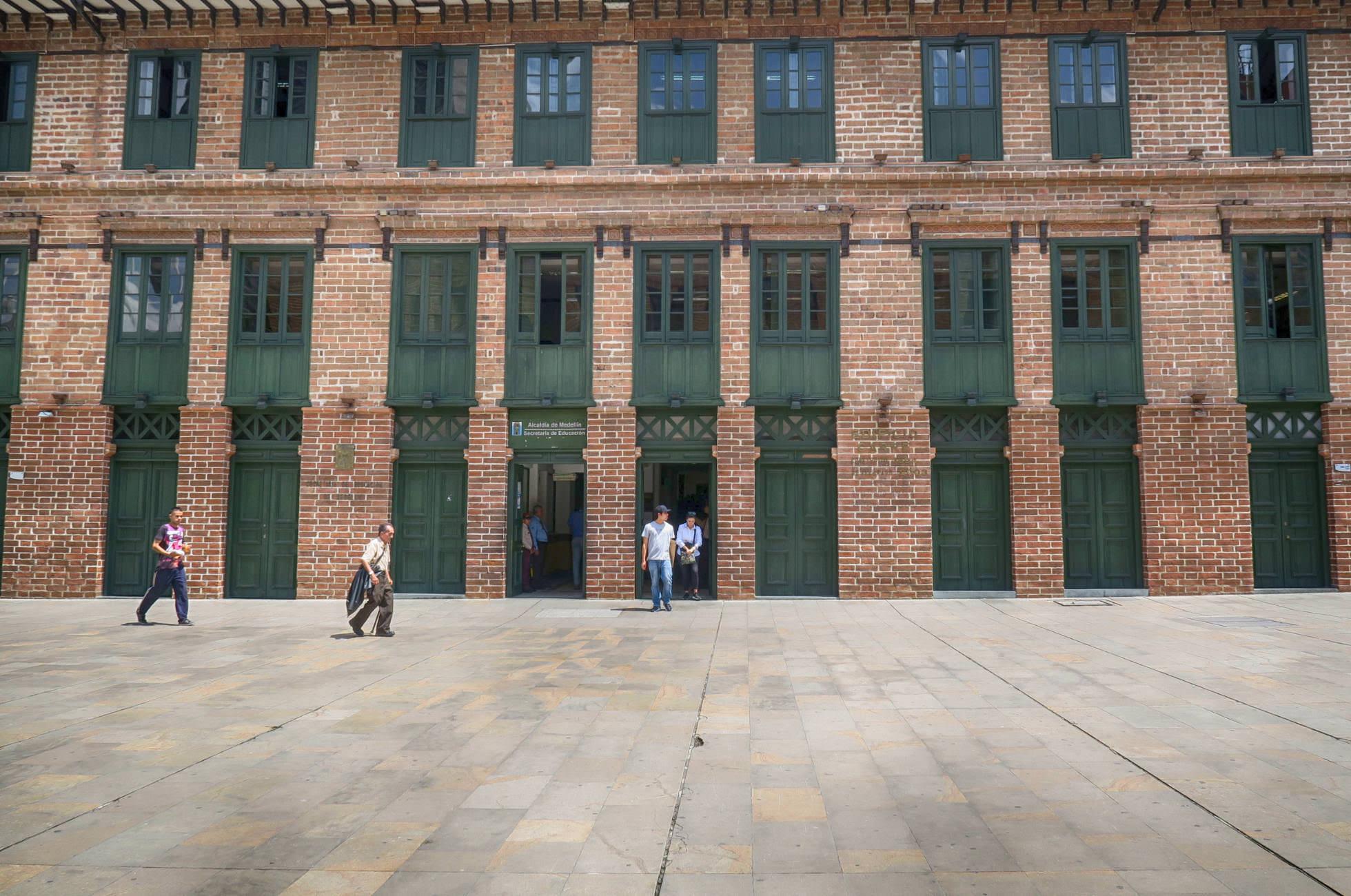 Medellin Fabrikgebäude
