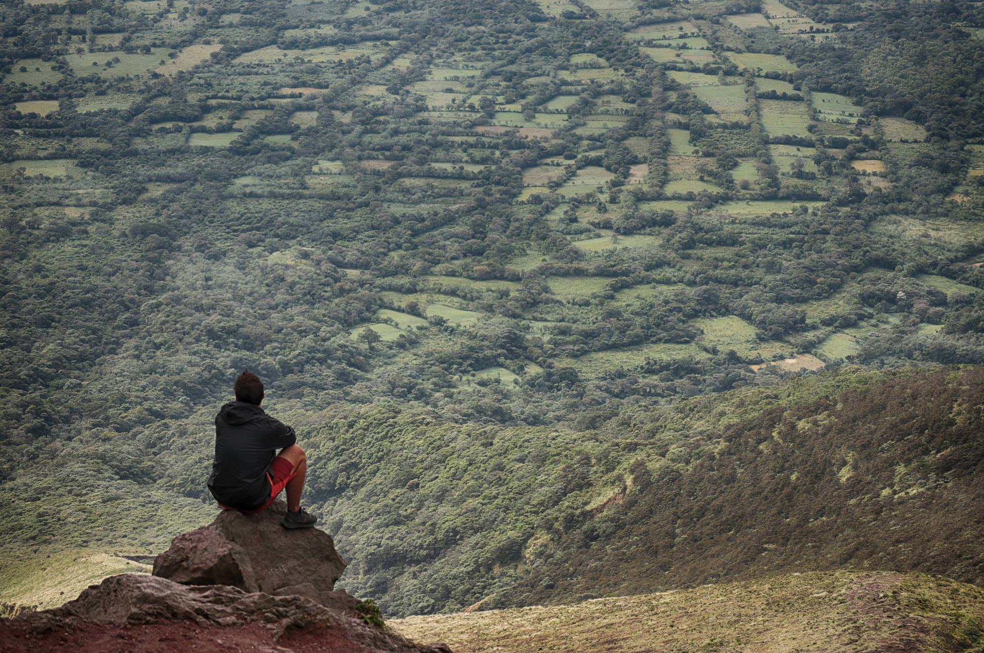 Aussicht Conception Vulkan Ometepe
