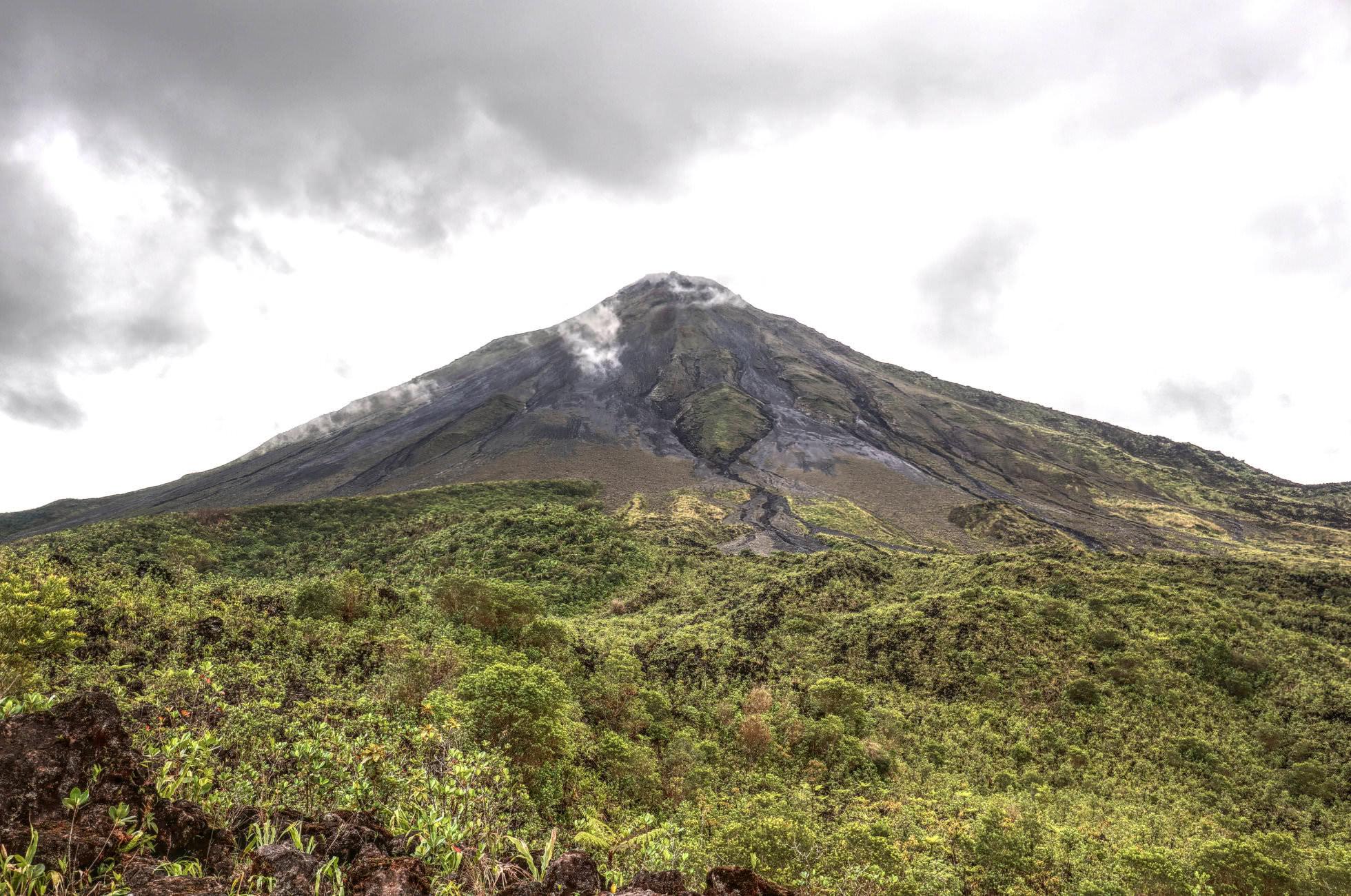 Vulkanausbruch Vulkan Arenal