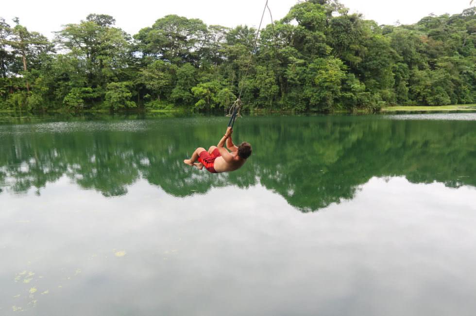 Tarzanseil Lagune