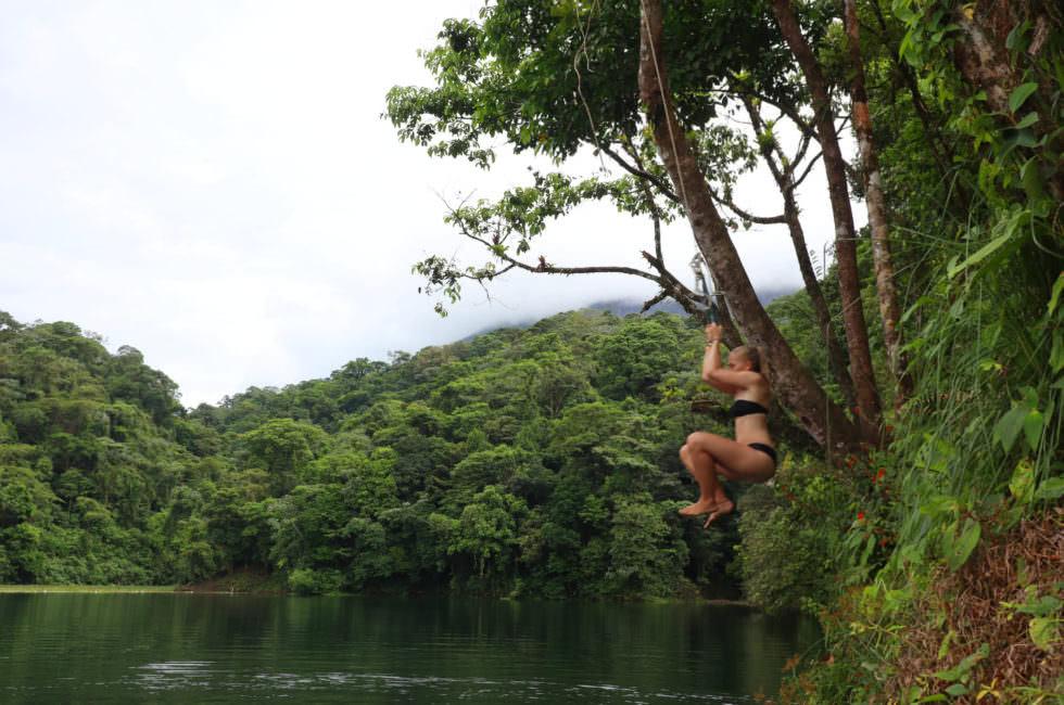 Lagune Vulkan Arenal