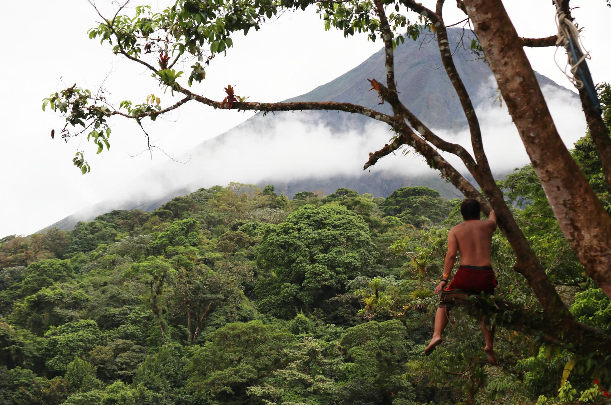 Natur La Fortuna Vulkan Arenal
