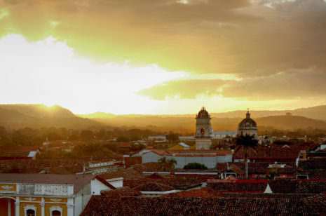 Sonnenuntergang Nicaragua