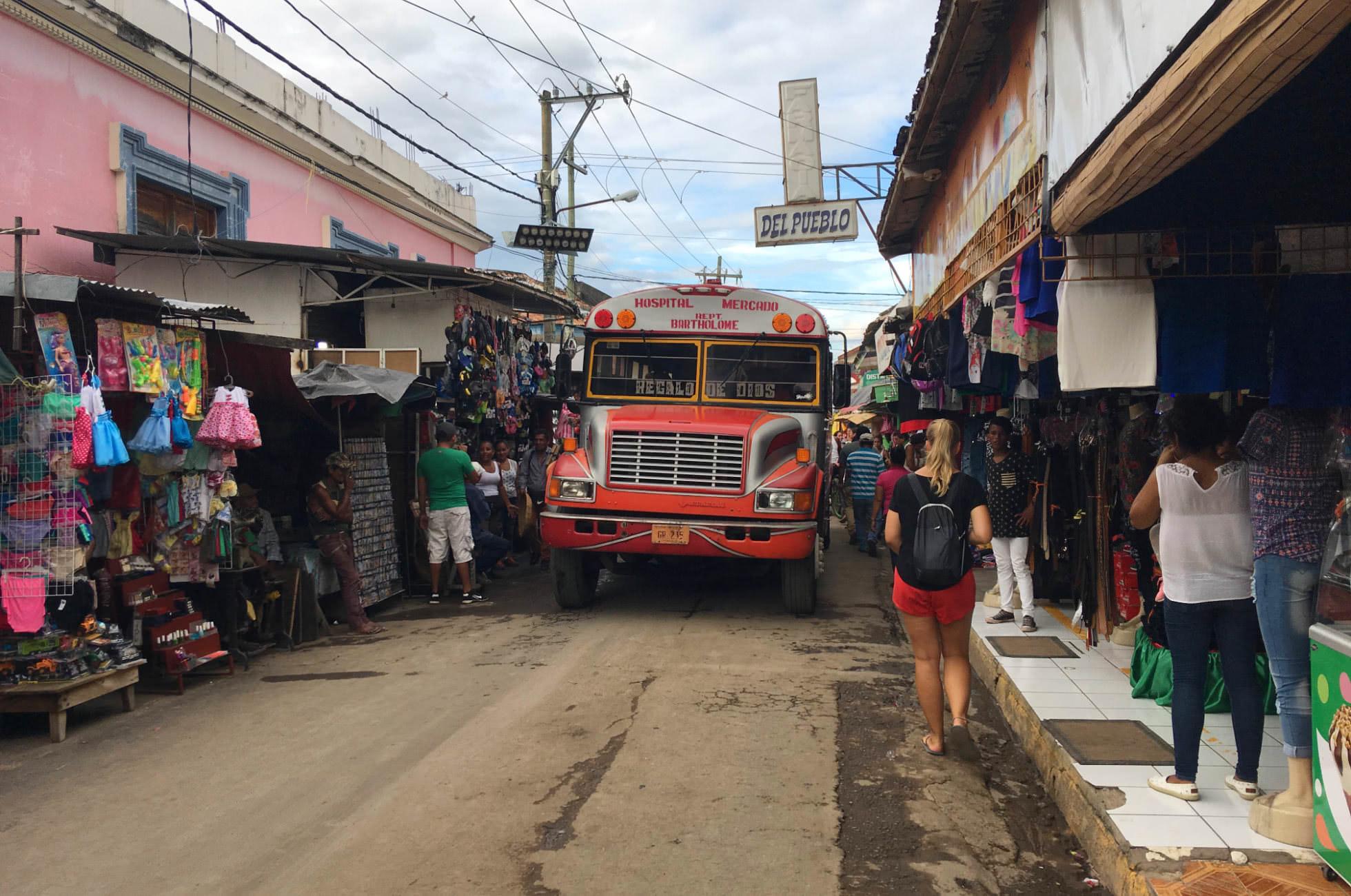 Chicken Bus Nicaragua