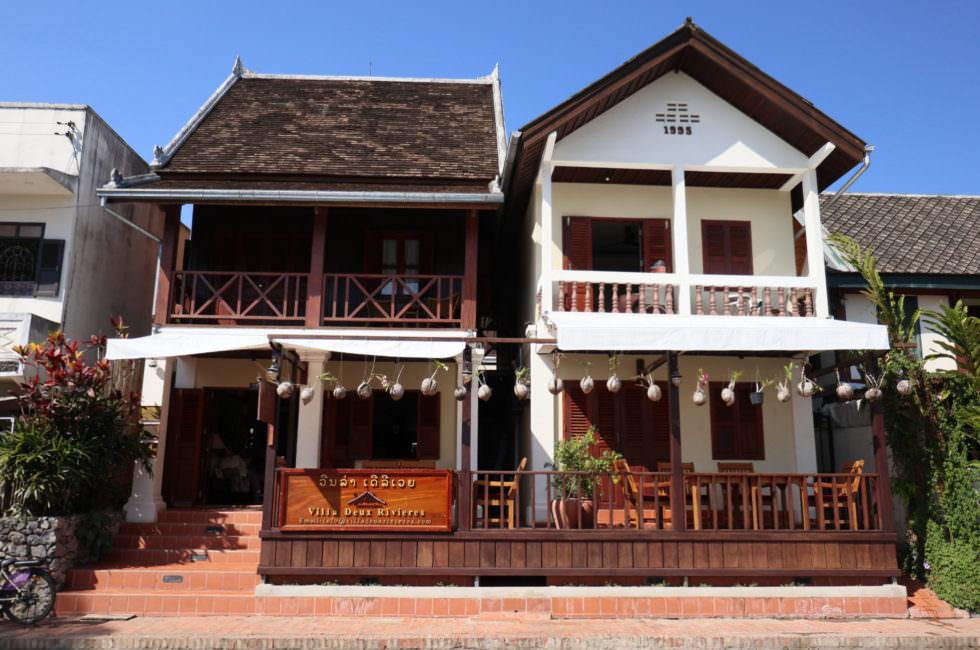 Kolonialhäuser Luang Prabang
