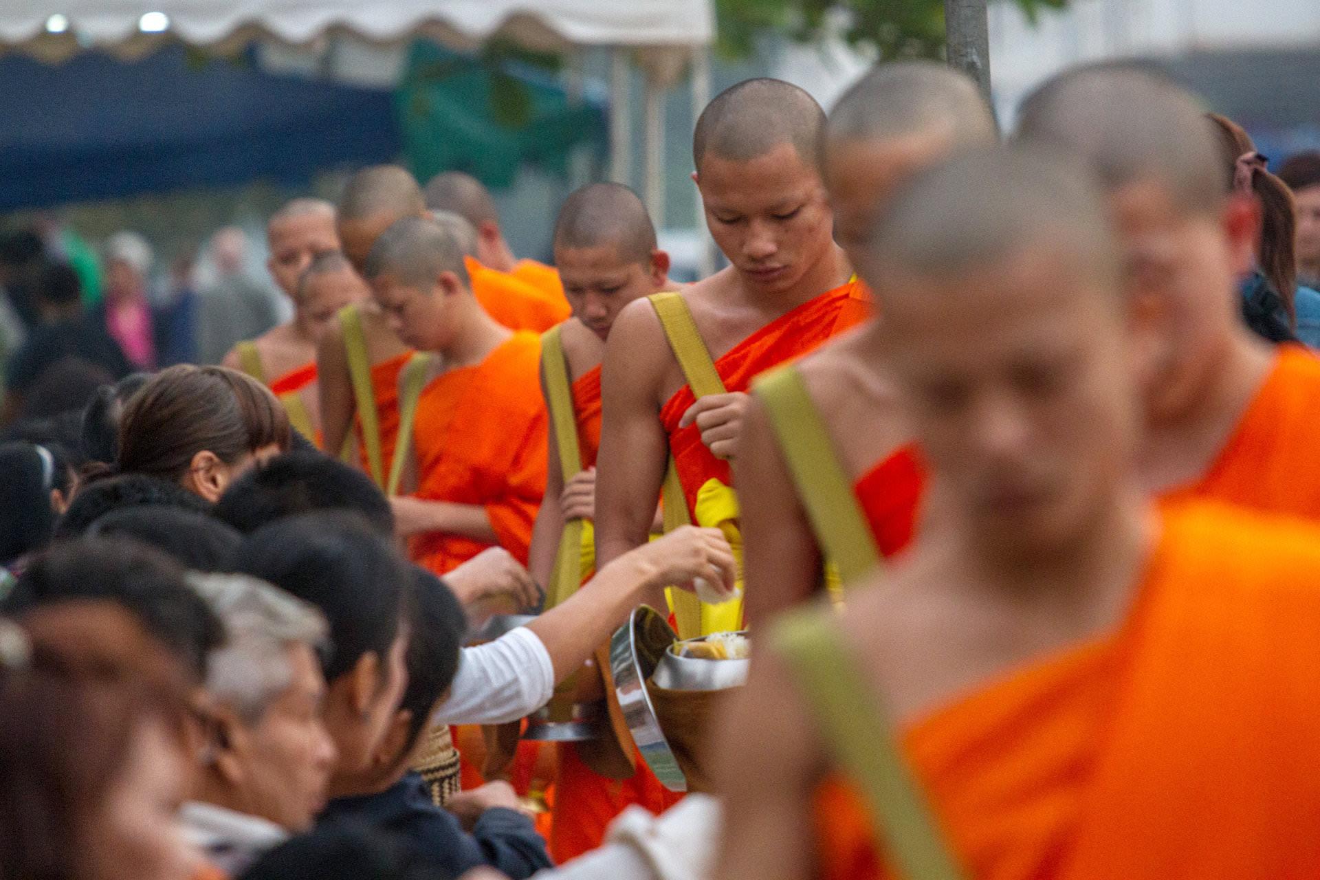 Mönche Luang Prabang