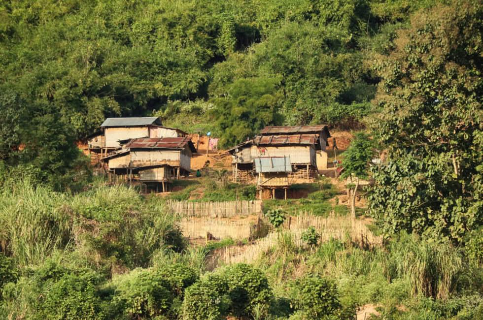 Dorf Mekong