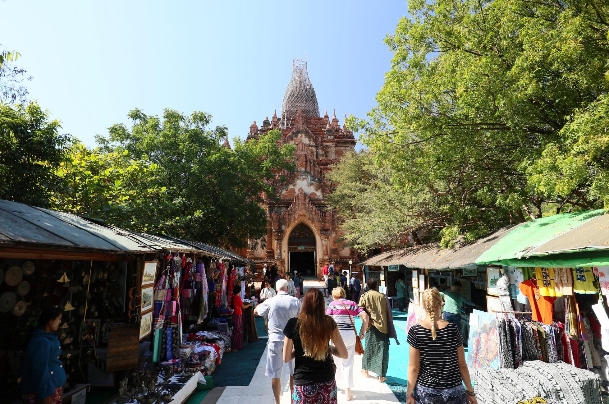 Souvenirs Bagan Myanmar