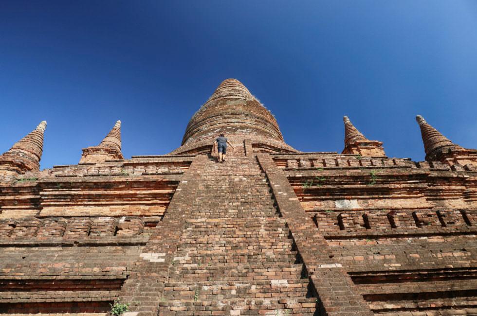 Aussicht Bagan