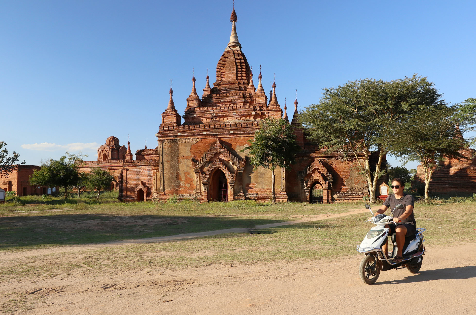 Scooter mieten Bagan