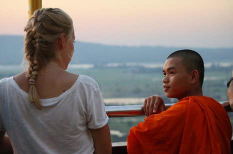 Mönch Mandalay Hill