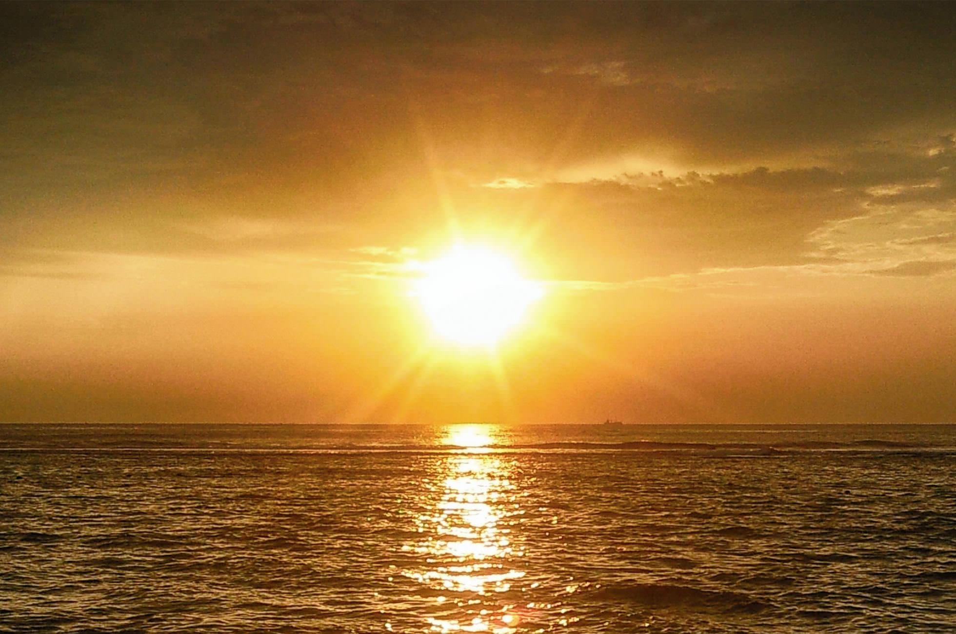 Hikkaduwa Sunset Sonnenuntergang