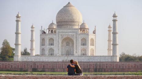 Atemberaubend: Der Taj Mahal und der heilige Ganges
