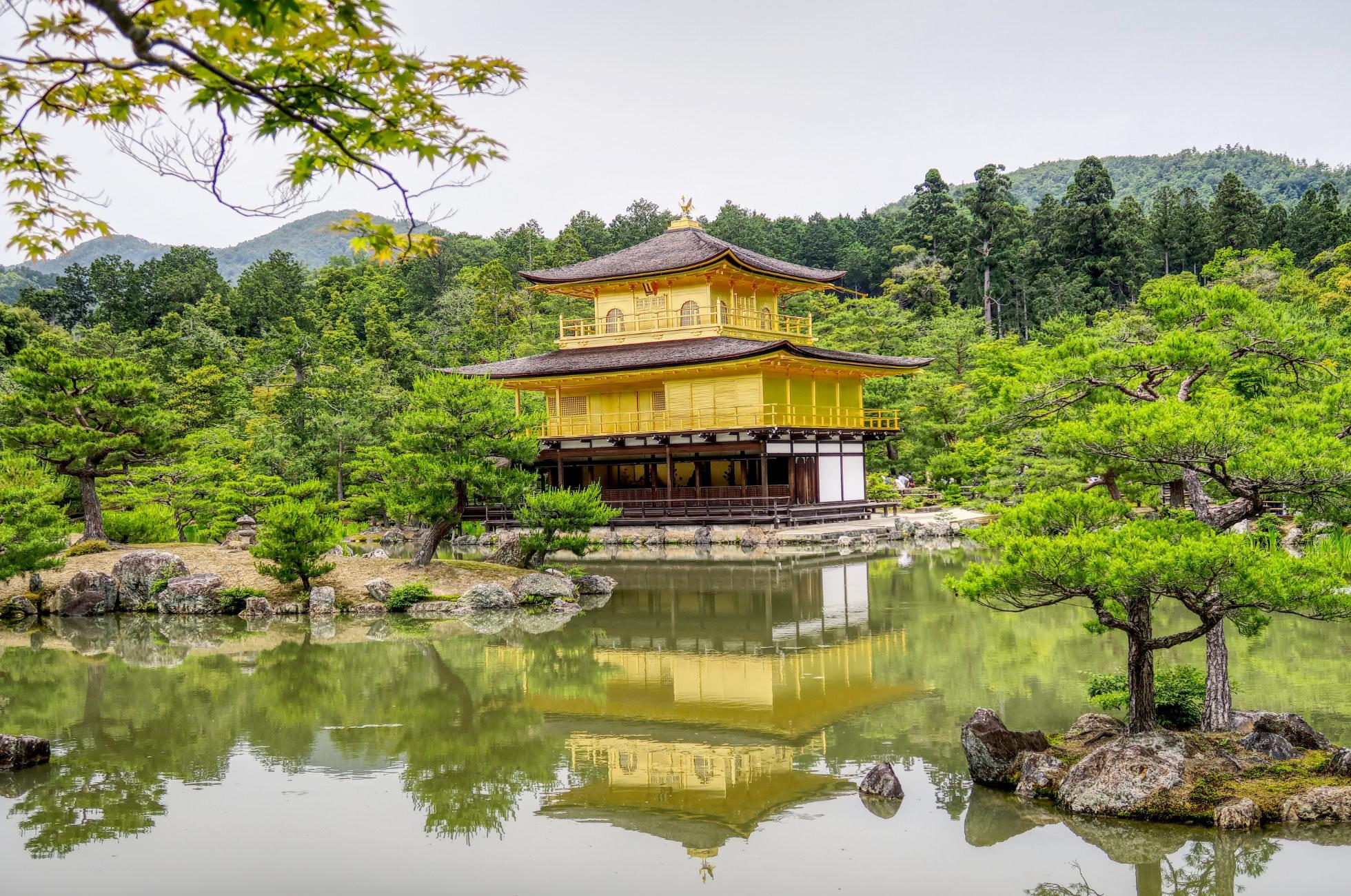 Goldener Tempel Kyoto