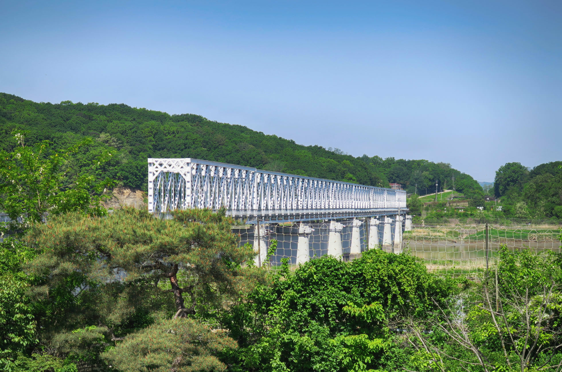 Freiheitsbrücke Freedom Bridge Nordkorea Südkorea