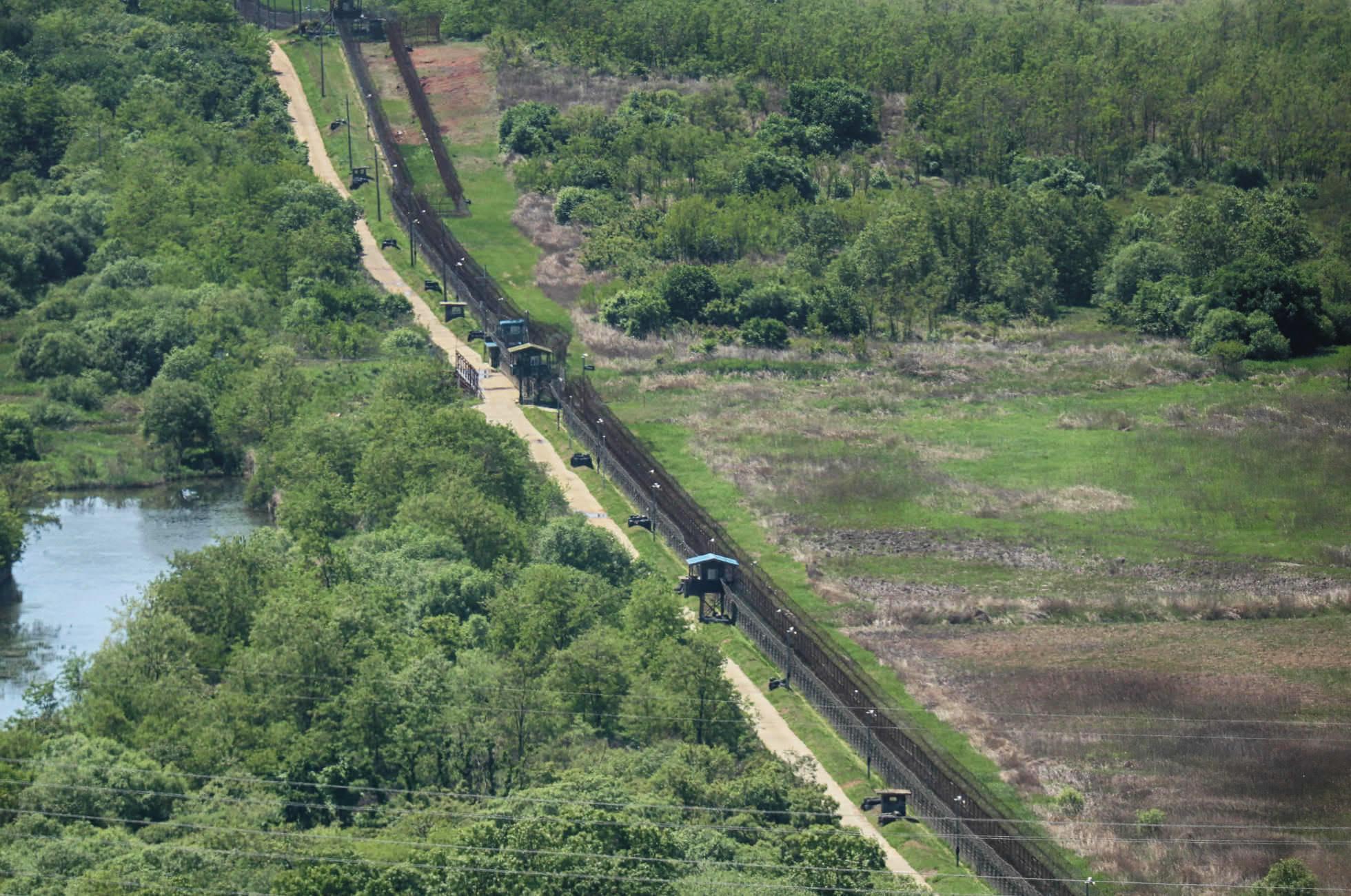 DMZ Grenzzaun Nordkorea