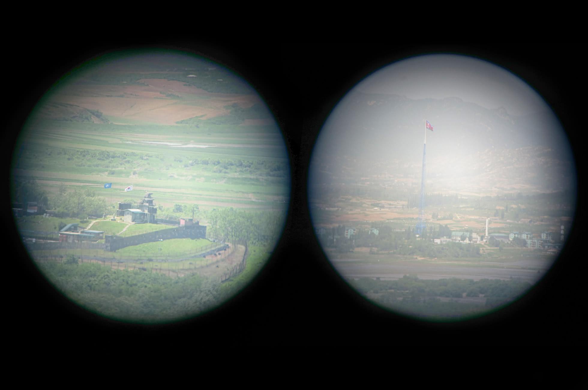 Fernglas Nordkorea