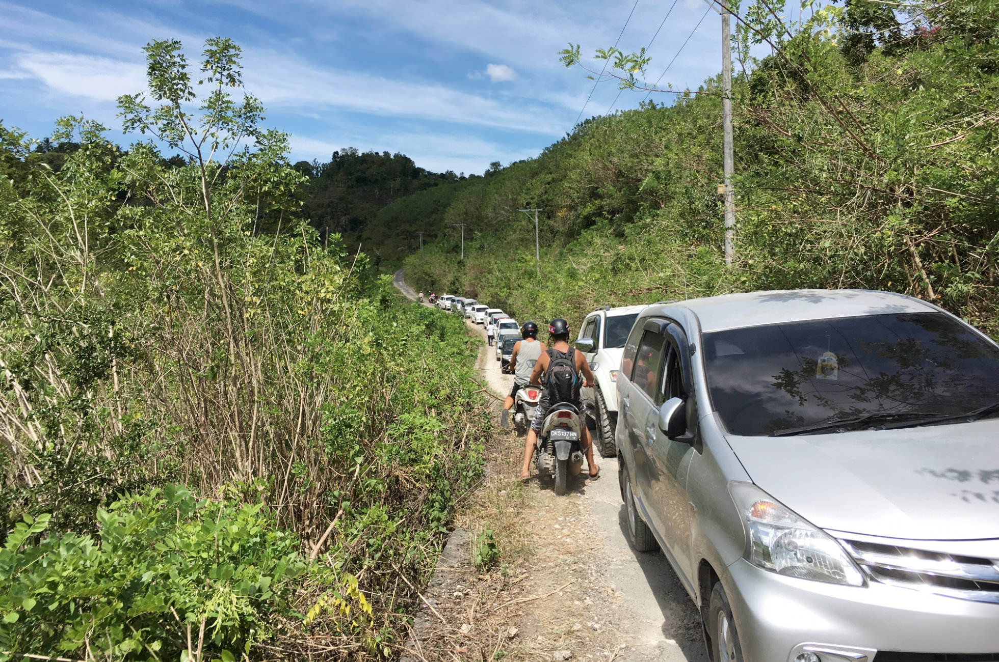 Roller fahren Nusa Penida