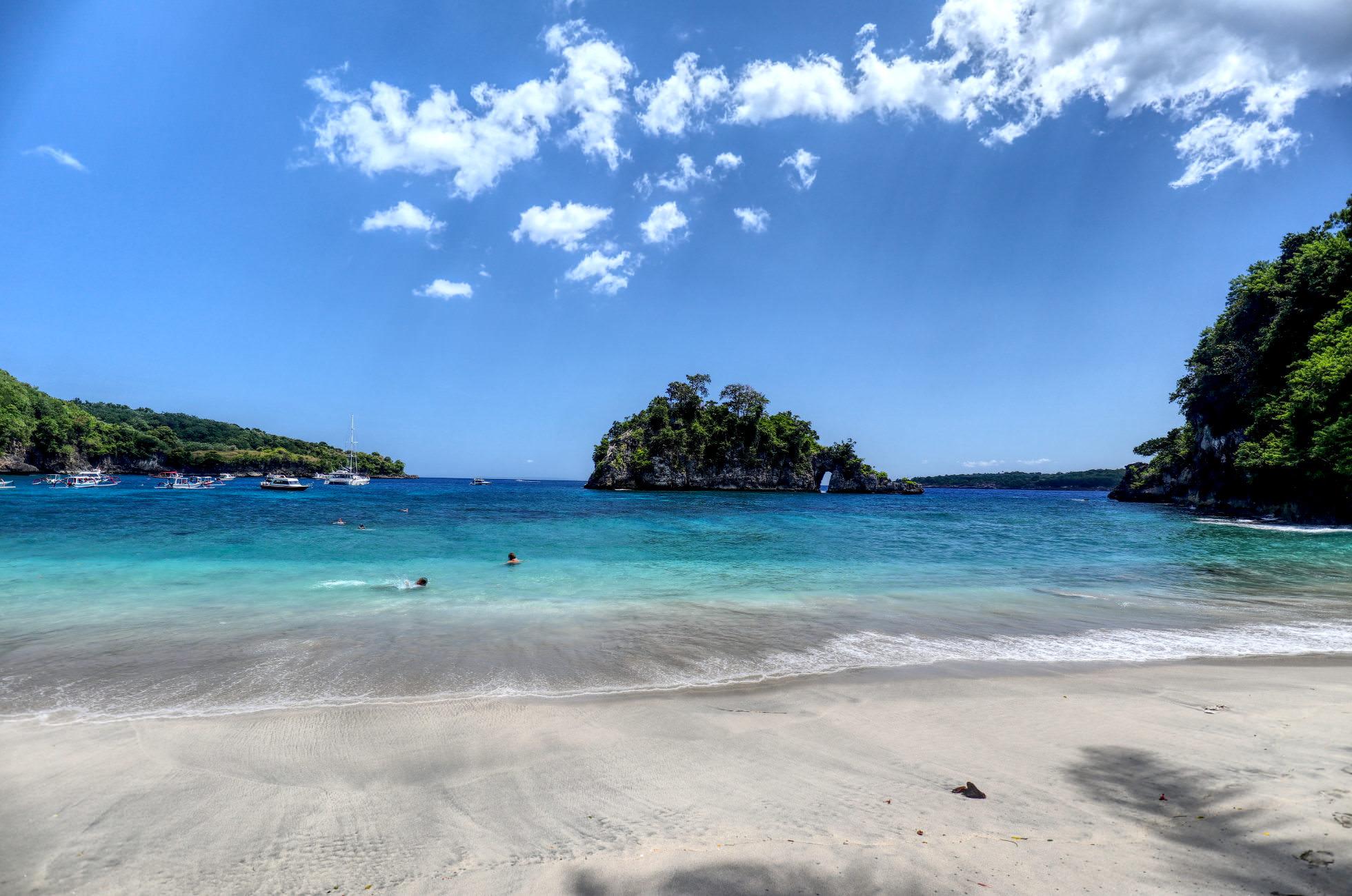 Schnorcheln Crystal Bay Beach Nusa Penida