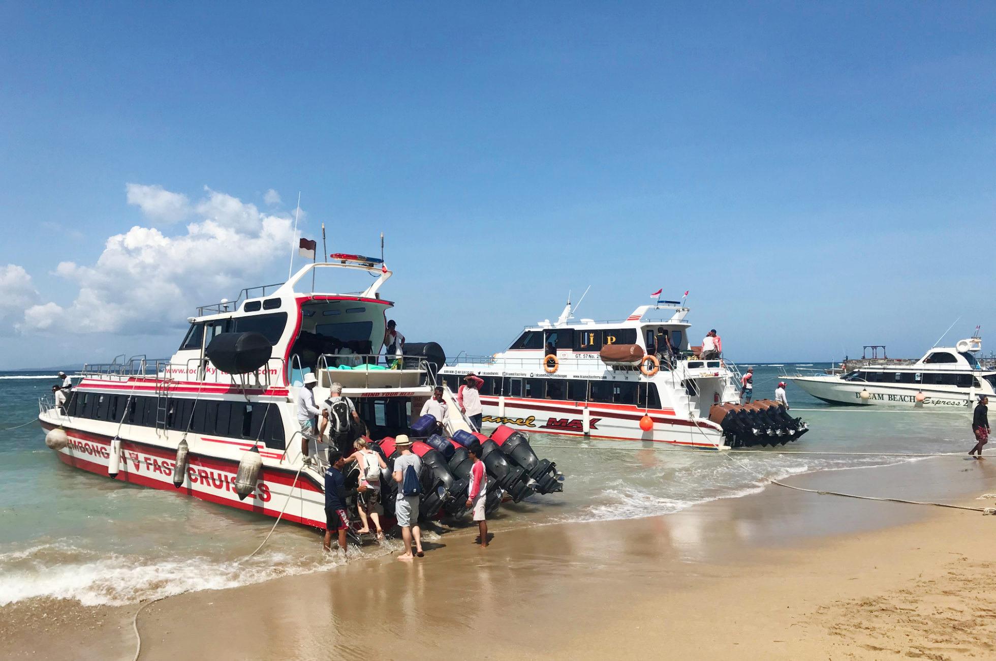 Speedboot Bali Nusa Penida