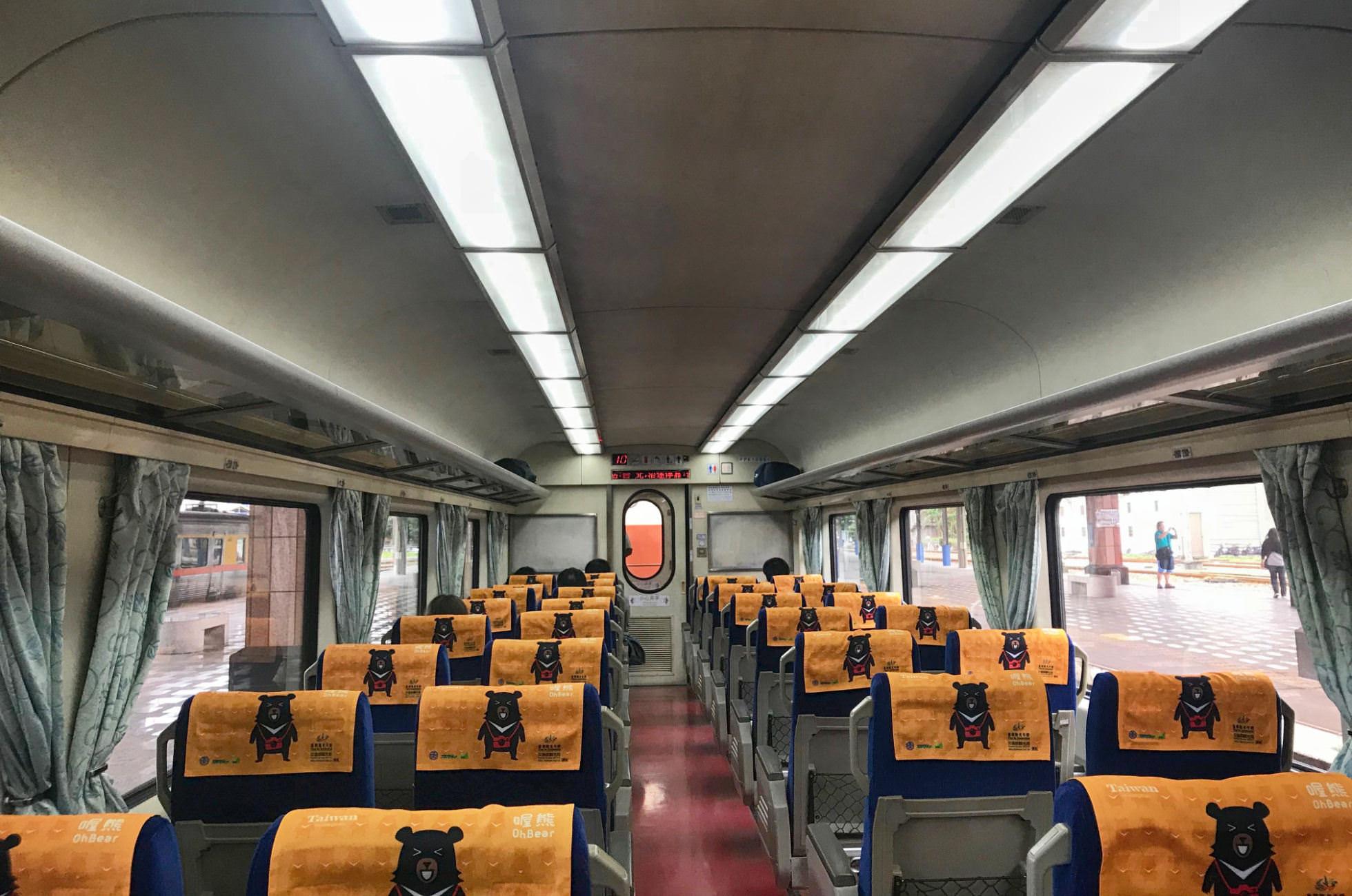 Zugfahren in Taiwan
