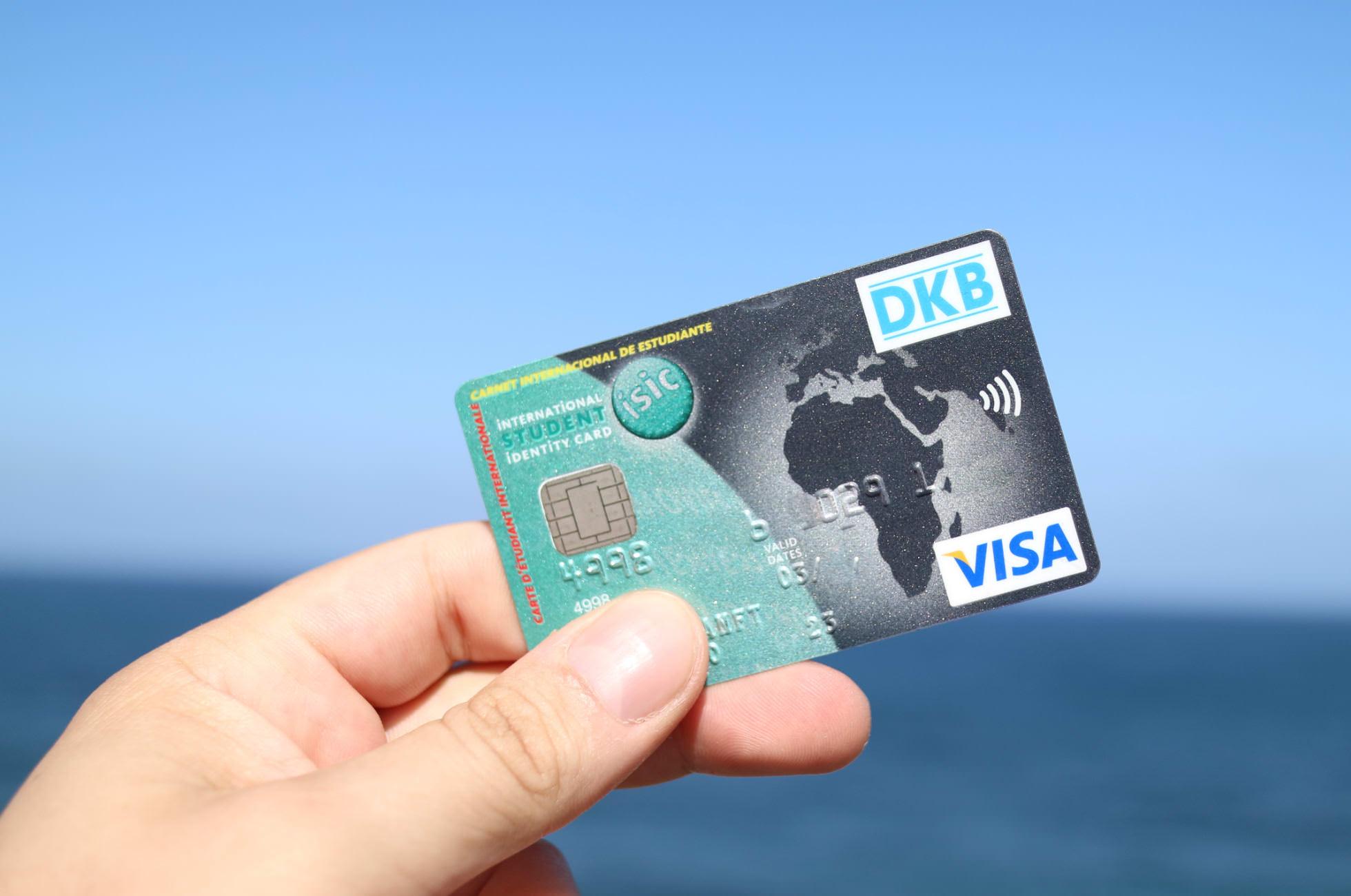 DKB-Studentenkreditkarte Reisen