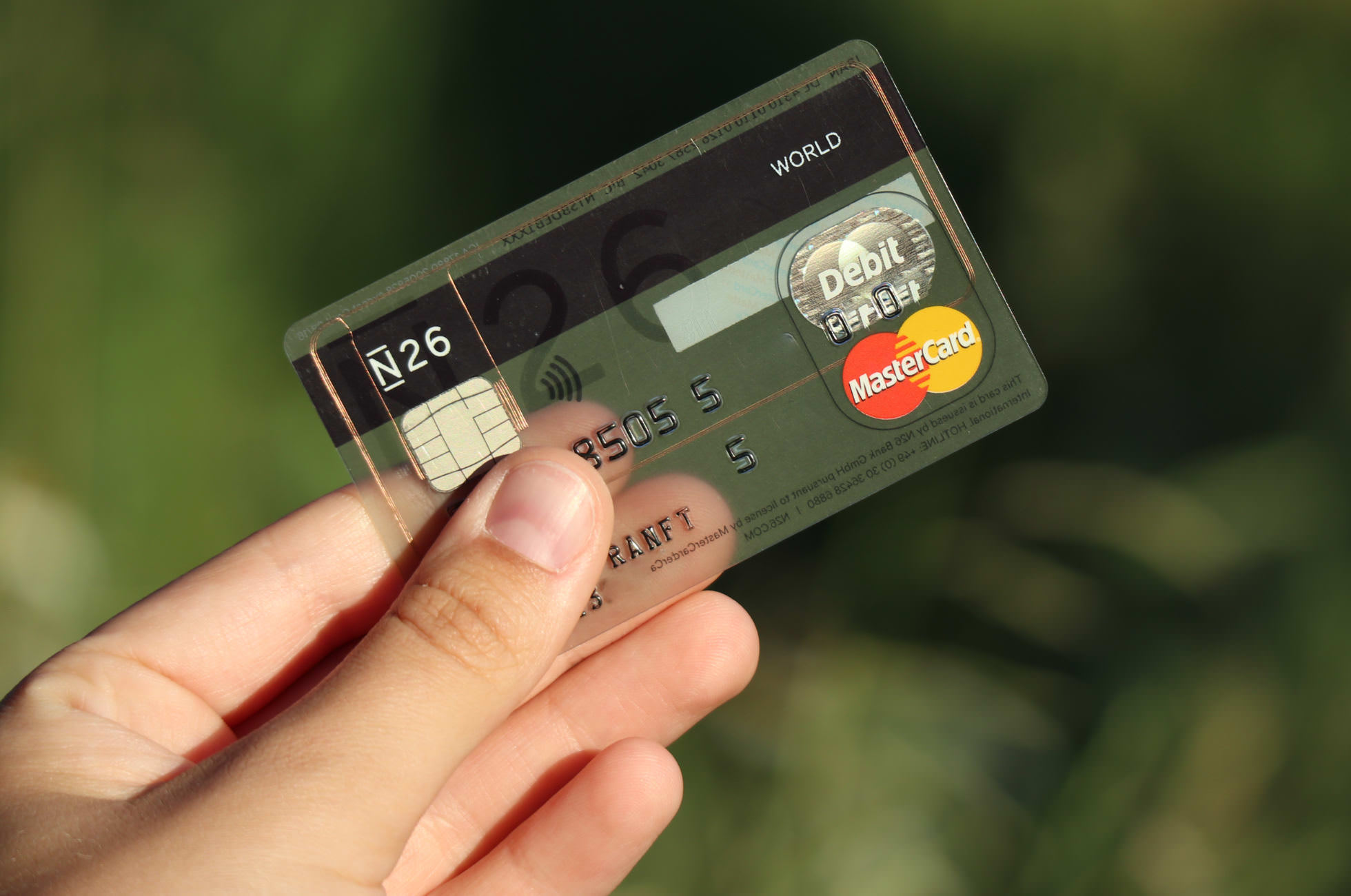 N26 Kreditkarte kostenlos