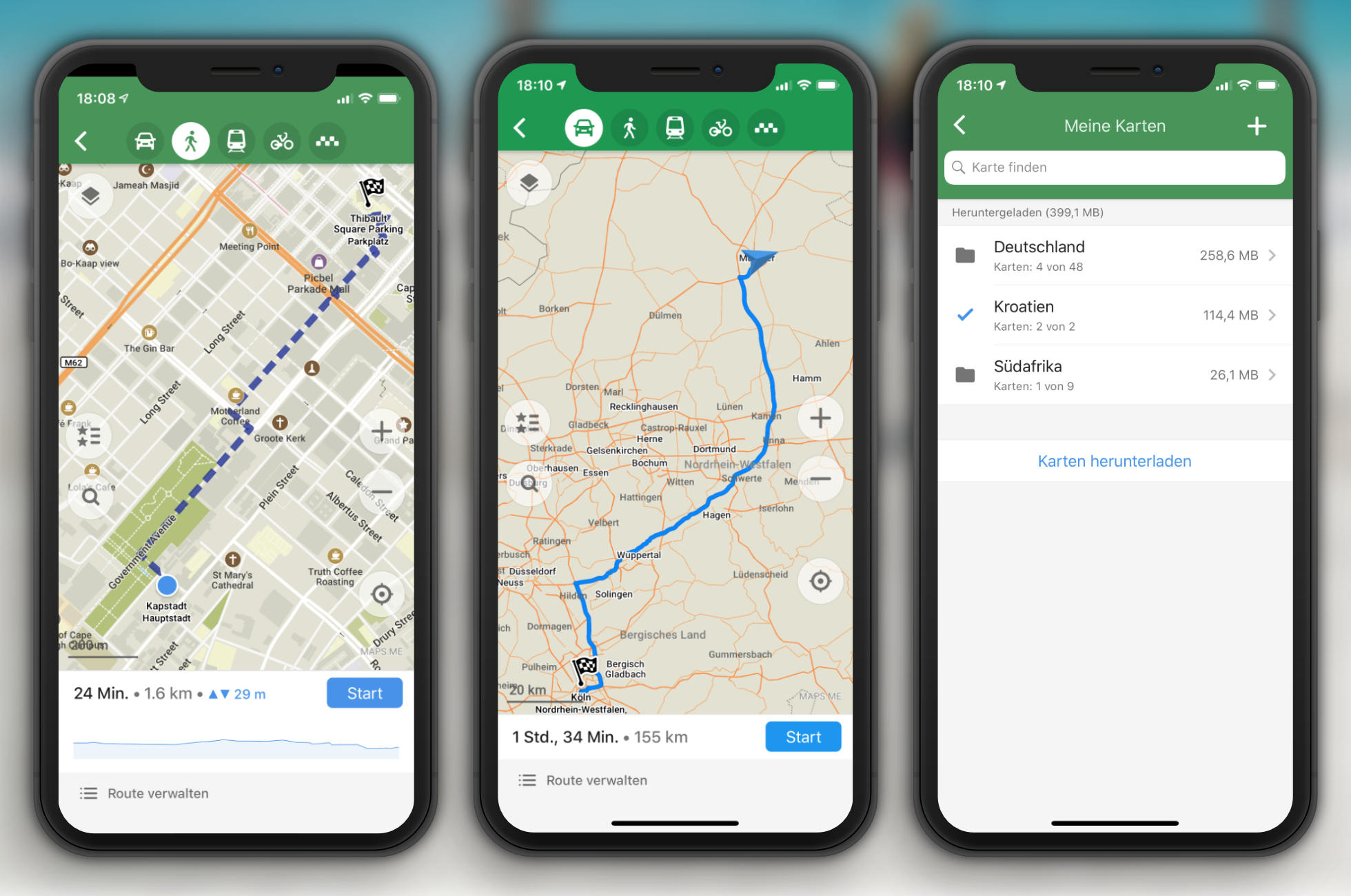 Maps.me Karten App