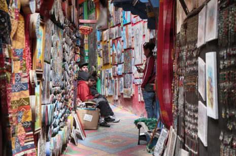 Bilder in der Medina von Fez