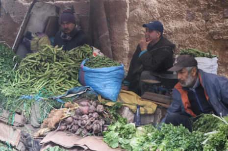 Gemüse in der Medina von Fez
