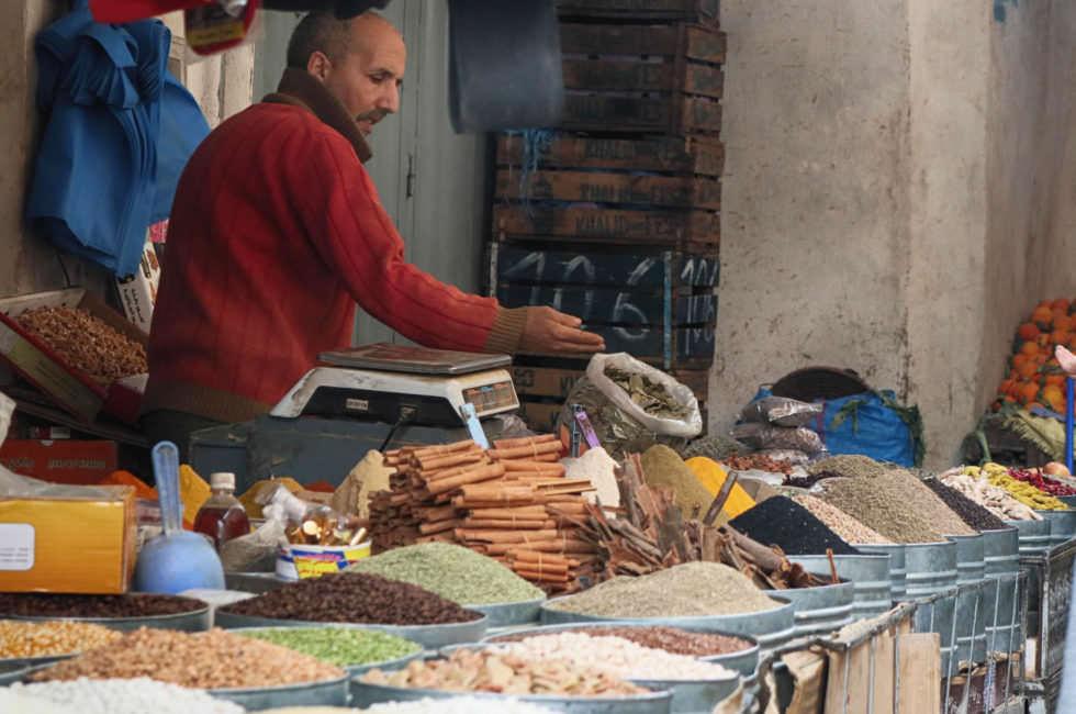 Gewürze in der Medina von Fez