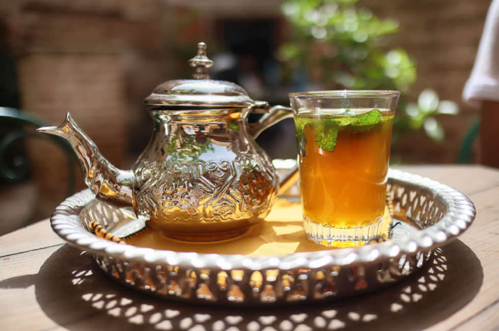 Marokkanischer Minztee
