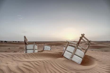 Sonnenaufgang in der Sahara