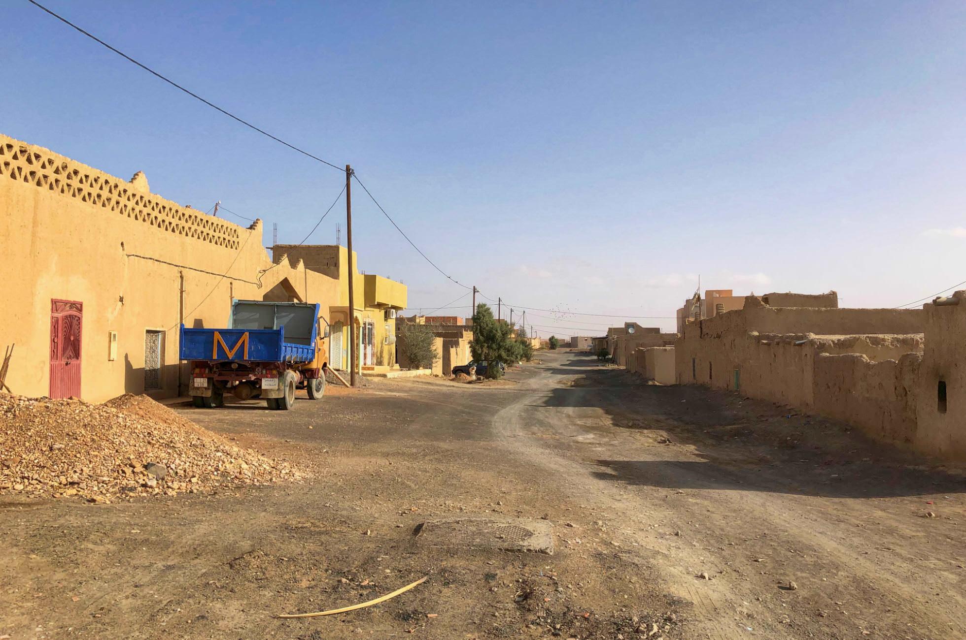 Merzouga Straße