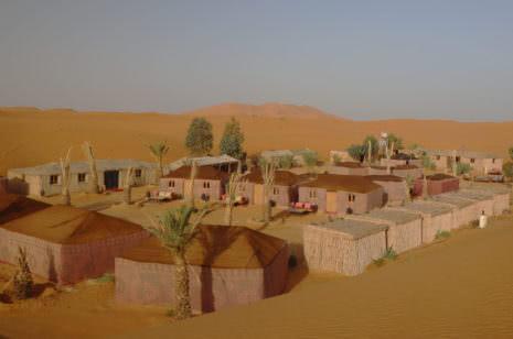 Camp Merzouga Wüste