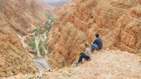 Das Atlas Gebirge: Wandern in der Dades Schlucht