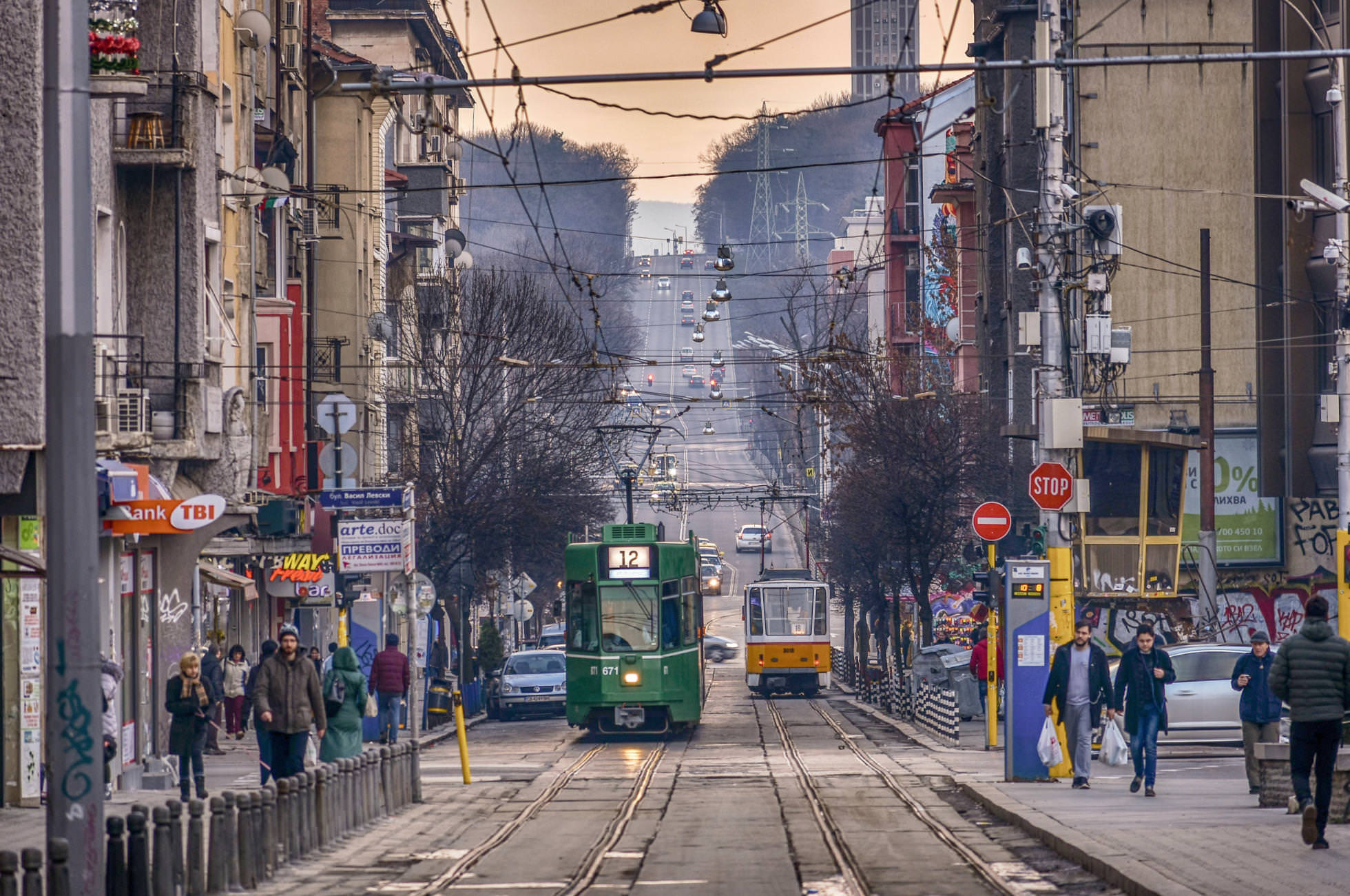 Streets of Sofia…